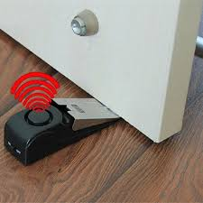 Good Quality Wedge Shaped 120 dB Security Home Door Stop Stopper