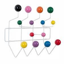 Coloured Ball Coat Rack