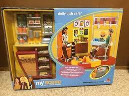 While some businesses are fighting to stay afloat, five coffee shops have established new locations in the alamo. 2003 Barbie Doll My Scene Cafe Playset Coffee Shop Green Floor Lamp Furniture