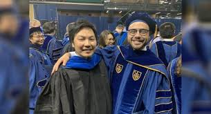 Alumni thankful for Newman experience; earns doctorate from Notre Dame
