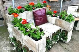 concrete block raised bed concrete block raised bed village garden center concrete block raised garden bed
