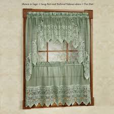 decoration lace kitchen curtains vintage lace curtains country