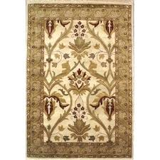 arts and crafts area rugs home rug co classic antique ivory sage mission style runner magnolia
