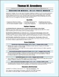 Sample It Project Manager Resume Interesting Best Resume Format Project Manager