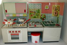 1950 Kitchen Furniture Tracys Toys And Some Other Stuff 1950s German Kitchen Playset