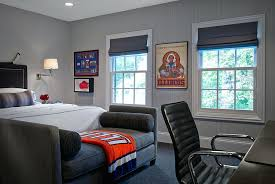 mens college room ideas view in gallery transitional masculine bedroom showcases a plush way to decorate guys dorm decor for men0 college