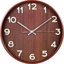 Buy <b>Large Decorative Wall Clock</b> - Universal Non-Ticking Wall Clock ...