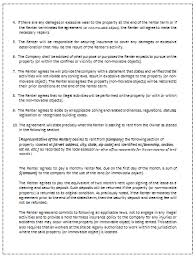 sample rental agreement letter printable sample rental agreement template office templates online