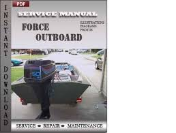 outboard force outboard motor service manual