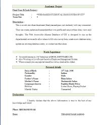 Top 10 Best Resume Formats Resume Template Sample