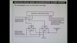 how to wire your alarm to a car negative door lock system how to wire your alarm to a car negative door lock system