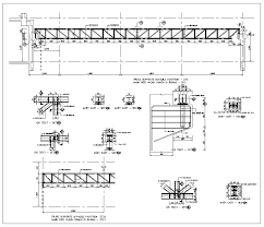 steel truss structure details steel structure cad truss building truss structure design