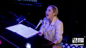 "<b>Lady Gaga</b> ""Million Reasons"" on the Howard Stern Show (2016 ..."