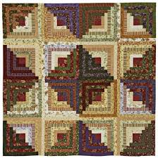 Log Cabin Quilt Patterns Magnificent Light And Dark Log Cabin Quilt AllPeopleQuilt