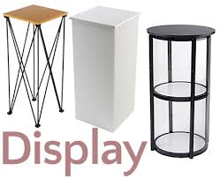 Portable Stands For Display Folding Tables For Sale Commercial Trade Show Event Furniture 6