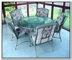 tempered glass patio table replacement a for 48 inch round top