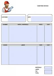 Free Printable Job Invoice Forms Download Them Or Print