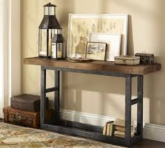 Image of: Simple Metal Media Console
