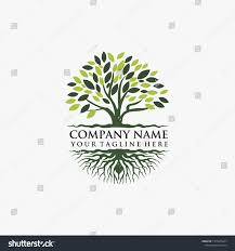 Banyan Tree Logo Design Logo Design Icon Banyan Tree Stock Vector Royalty Free