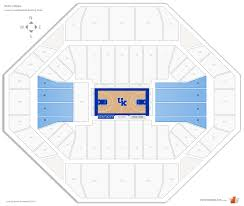 Disney On Ice Rupp Arena Seating Chart Rupp Arena Kentucky Seating Guide Rateyourseats Com