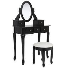 Bathroom Vanity Table Set - Black