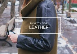 how to sew leather and faux leather closet case patterns
