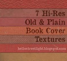 free hi res old plain book cover textures