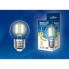 <b>Лампочка UNIEL HCL-42/CL/E14</b> GLOBE (1001063158) купить в ...