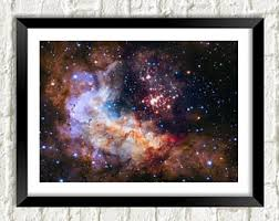 The Chart Of Cosmic Exploration Etsy