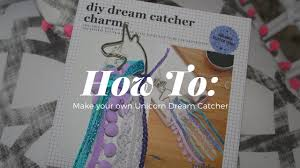 How To Make Your Own Dream Catcher DIY Unicorn Dream Catcher SwanTV YouTube 72