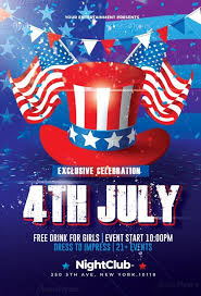 4th Of July Celebration Flyer Psd Template Creativeflyers