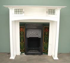 charles graham architectural antiques and fireplaces original antique arts and crafts wooden fire surround