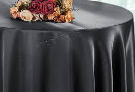 120 round satin tablecloth pewter 55860 1pc pk
