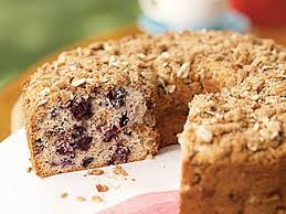 Sour cream coffee cake is wonderfully moist and has a delicious streusel topping. Healthy Coffee Cake Recipes Cooking Light