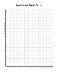 Coordinate Graph Paper X Y