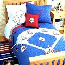 baseball bedding sets full size twin of reversible baby boy crib