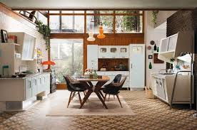 Kitchen and dining furniture in retro style ...