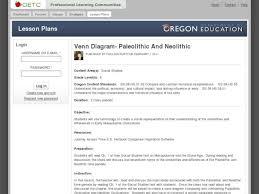 Neolithic And Paleolithic Venn Diagram Venn Diagram Paleolithic And Neolithic Lesson Plan For 6th