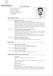 Current Resume Trends Current Resume Trends Chronological Examples