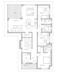 building a home budget small house plan with three bedrooms suitable to narrow lot