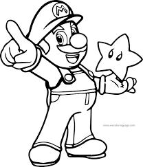 Super Mario Coloring Page Coloriage Coloriage Enfant Et Coloriage