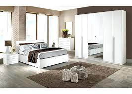 Bedroom Furniture Assembled Range Welcome White High Gloss Photo ...