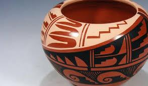 Navajo pottery designs Desert Southwest Indian Land Cruising Adventure Jemez Pueblo Pottery Pueblodirectcom