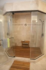 custom made teak shower mat
