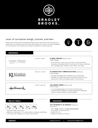 well designed resume examples for your inspiration resume by bradley brooks