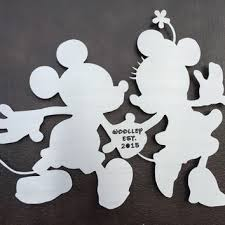mickey and minnie disney metal wall art disney art personalized sign disney lovers on mickey mouse metal wall art with mickey and minnie disney metal wall art from inspiremetals on