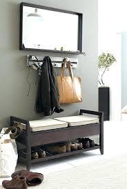 Coat Rack Shoe Storage Bench Mesmerizing Best Shoe Rack For Garage Garage Shoe Rack Ideas Best Coat And Shoe