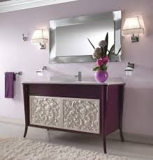 Attractive Image Of Small Modern Bathroom Decoration Using Black ...