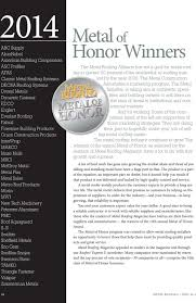 Metal Shingles 10th Annual Metal Of Honor Awards More To