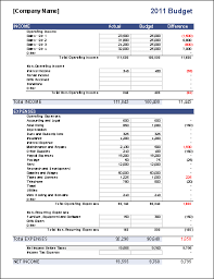 Budget Expenses Template Business Budget Template For Excel Budget Your Business